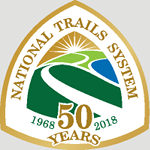 National Trails System 50th Logo