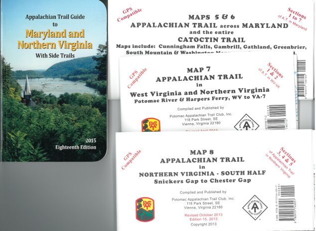 AT Guide Set #6 (Guide Book to MD and N.VA w/ maps 5-6,7,8)