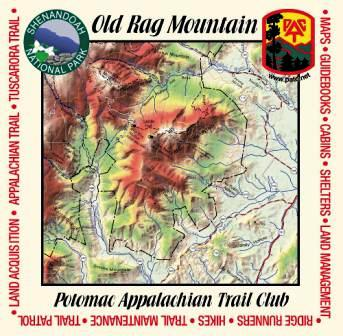 Old Rag Map Bandana
