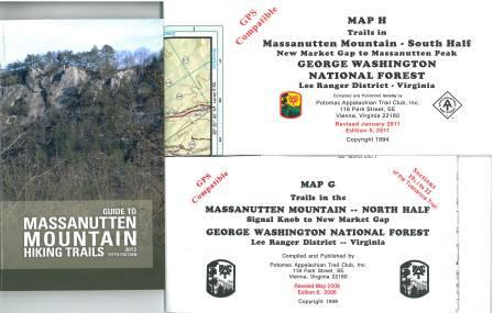 Massanutten Guide Set (Guide to Massanutten Mtn w/ maps G&H)